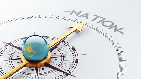 kazakhstan: Kazakhstan High Resolution Nation Concept