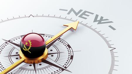 renewed: Angola High Resolution New Concept Stock Photo