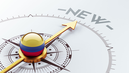 renewed: Colombia High Resolution New Concept Stock Photo
