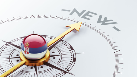 renewed: Serbia High Resolution New Concept