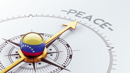 pacifist: Venezuela High Resolution Peace Concept Stock Photo