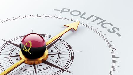 angola: Angola High Resolution Politics Concept Stock Photo