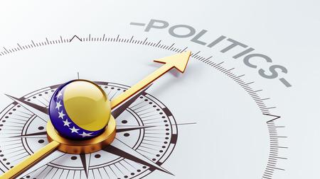 herzegovina: Bosnia and Herzegovina  High Resolution Politics Concept