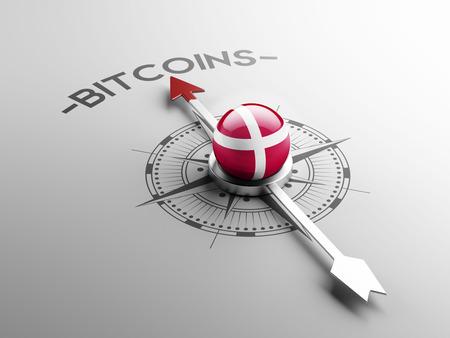 Denmark High Resolution Bitcoin Concept photo