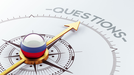 inquiry: Russia High Resolution Questions Concept
