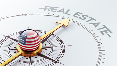 United States High Resolution Real Estate Concept