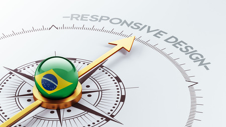 Brazil High Resolution Responsive Design Concept photo