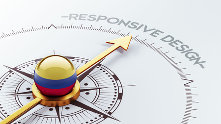 Colombia High Resolution Responsive Design Concept photo