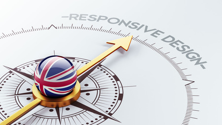 United Kingdom High Resolution Responsive Design Concept photo