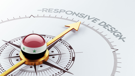 Syria High Resolution Responsive Design Concept photo