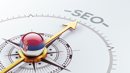 Serbia High Resolution Seo Concept photo