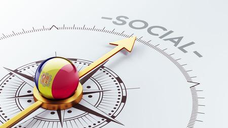 societal: Andorra High Resolution Social Concept