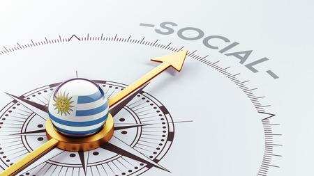 societal: Uruguay High Resolution Social Concept Stock Photo