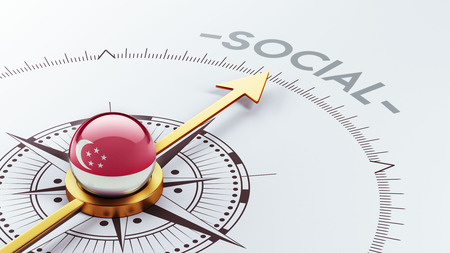 societal: Singapore High Resolution Social Concept Editorial