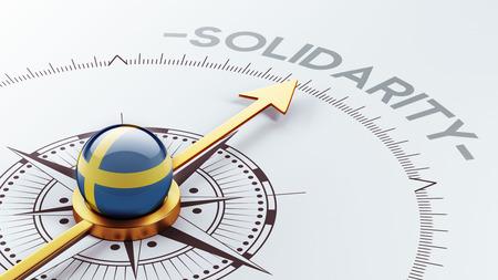 Sweden High Resolution Solidarity Concept photo