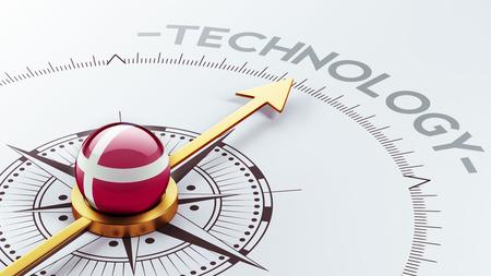 Denmark High Resolution Technology Concept photo