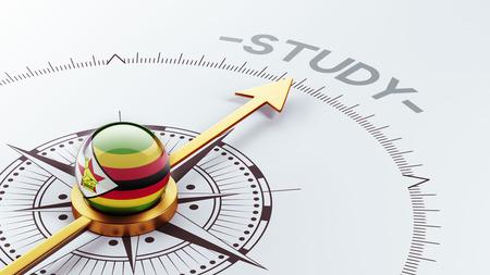 study concept: Zimbabwe High Resolution Study Concept Stock Photo