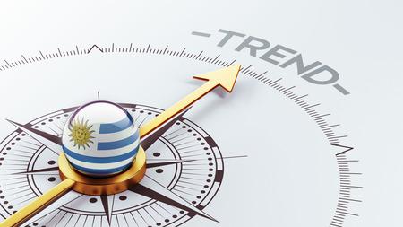 trending: Uruguay High Resolution Trend Concept