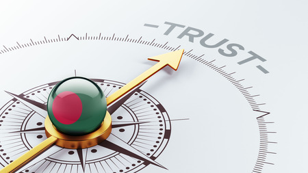 reliance: Bangladesh High Resolution Trust Concept Stock Photo