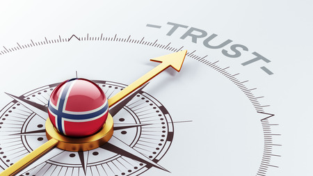 reliance: Norway High Resolution Trust Concept Stock Photo