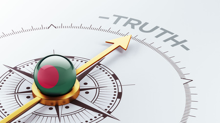 the truth: Bangladesh High Resolution Truth Concept Stock Photo
