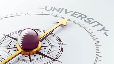 graduate asian: Qatar High Resolution University Concept Stock Photo