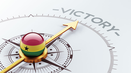 Ghana High Resolution Victory Concept photo