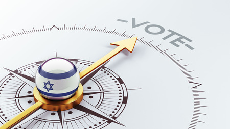 Israel High Resolution Vote Concept