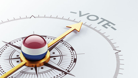 Netherlands High Resolution Vote Concept