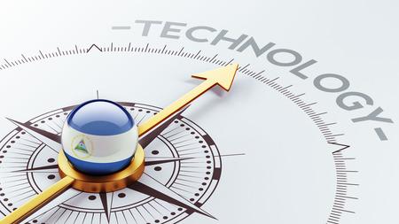 Nicaragua High Resolution Technology Concept photo