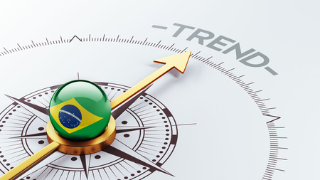 Brazil High Resolution Trend Concept