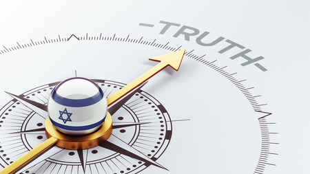 the truth: Israel High Resolution Truth Concept Stock Photo