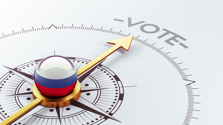 Russia High Resolution Vote Concept