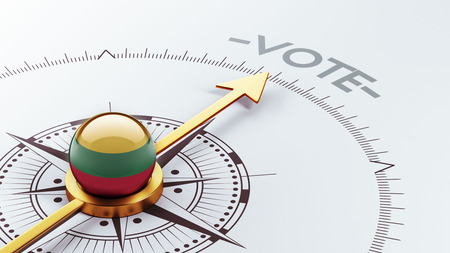 Lithuania High Resolution Vote Concept