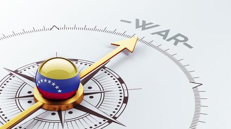 tussle: Venezuela High Resolution War Concept Stock Photo