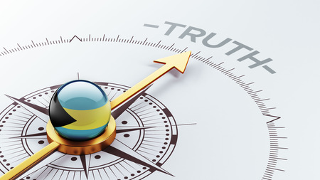 the truth: Bahamas  High Resolution Truth Concept Stock Photo