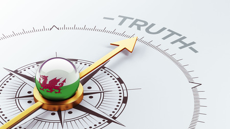 the truth: Wales High Resolution Truth Concept Stock Photo