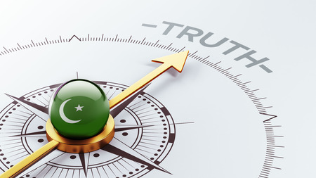 the truth: Pakistan High Resolution Truth Concept Stock Photo