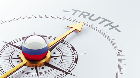 the truth: Russia High Resolution Truth Concept Stock Photo