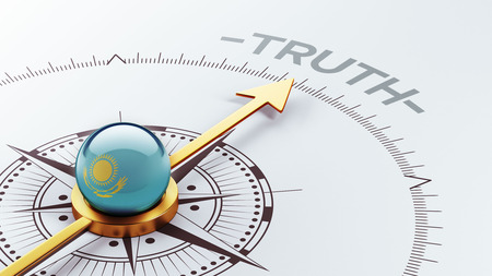 the truth: Kazakhstan High Resolution Truth Concept Stock Photo