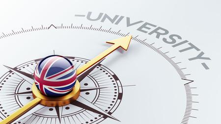 Verenigd Koninkrijk High Resolution University Concept Stockfoto