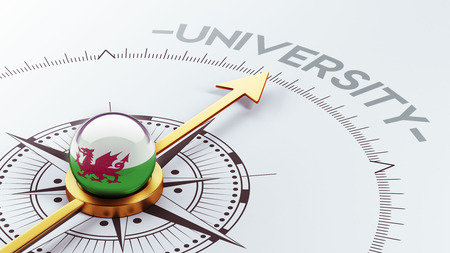 Wales High Resolution University Concept photo