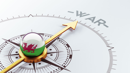 controversy: Wales High Resolution War Concept Stock Photo