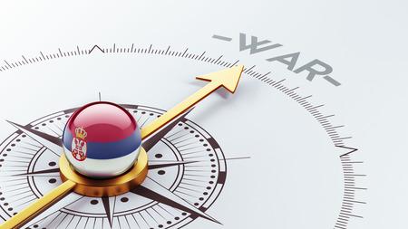 tussle: Serbia High Resolution War Concept