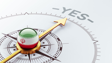 assent: Iran High Resolution Yes Concept