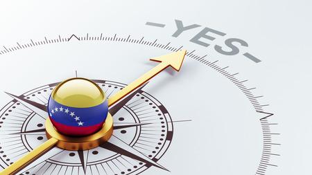 affirmative: Venezuela High Resolution Yes Concept