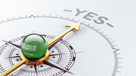 assent: Saudi Arabia High Resolution Yes Concept