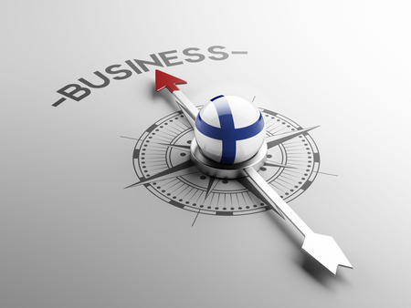 Finland High Resolution Business Concept