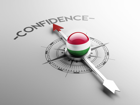Hungary High Resolution Confidence Concept photo