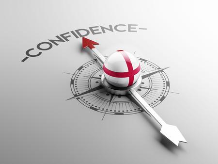 England High Resolution Confidence Concept photo